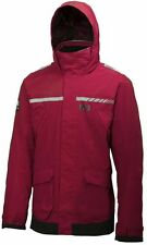 Helly Hansen Pier Giacca Impermeabile rosso nuovo