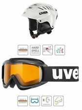 UVEX Junior SET mit Skibrille Kinder Skihelm (white) NEU !
