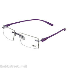 Zeemon Rimless Frame Spectacles Men Women Eyewear Eyeglasses Z_4477