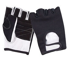 Cycling Gloves Race Motorcycle Bicycle Mountain Bike Riding Mitts Fingerless