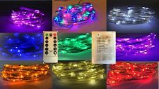60 LED Battery String Light+Remote Control+8 Modes+Use IN/Outside+Timer+9Colours