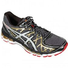 Asics Gel Kayano 20 Mens Running Shoes Black White Gold T3N3N 9001 Sneakers New
