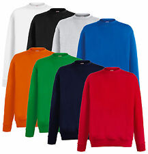FRUIT OF THE LOOM HERREN LIGHTWEIGHT SET-IN SWEATSHIRT VERSCH. FARBEN S-XXL NEU