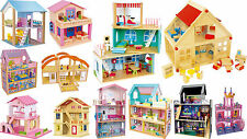 DOLL HOUSE Wooden Floors Furniture Fancy Children Kids Girls Dolls Home Legler