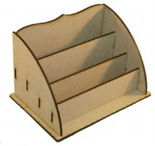 Creative Expressions MDF LARGE DESK TIDY 20cm x 11cm x 9.5cm SELF ASSEMBLY