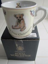 Royal Worcester  Days of The Week. Christening Mug. New In Box