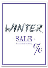 Poster Plakat - Winter Sale