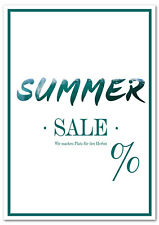 Poster Plakat Summer Sale
