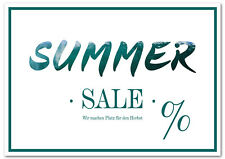 Poster Plakat Summer Sale Querformat