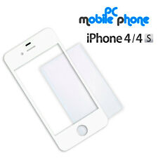Cristal pantalla tactil digitalizador Apple Iphone 4/4S BLANCO + Lamina cola OCA
