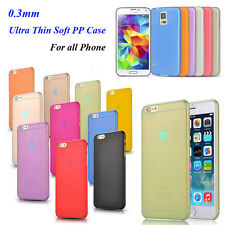matte Clear Transpare Ultra Thin Soft Silicon Case Cover for iphone 4 5 6 6S 6+