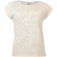 Pepe Jeans Saker Printed T Shirt Tee Fashion Top Womens Ladies