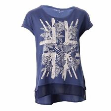 Pepe Jeans Venice Printed T Shirt Tee Fashion Top Womens Ladies