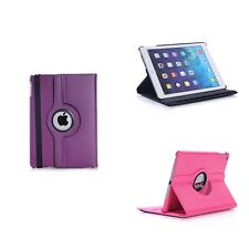 Case For Apple iPad Mini 4 Various Colour Pu Leather 360 Degree Rotating Cover