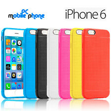 Funda para Apple iPhone 6/6S gel silicona flexible - Alta absorcion de impactos