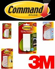 3M Command Strips Poster Small Medium Large Picture Frame Hanging Damage Free