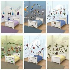 WALLTASTIC WALL STICKER SETS KIDS BEDROOM CHOOSE FROM SPIDERMAN, FROZEN, & MORE!