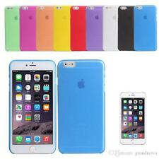"""iPhone 6 4.7"""" Matte Frosted Frost Transparent Ultra Slim Thin Soft PP Case Cover"""