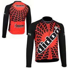 Didoo New Men's Sport Cycling Bike Jersey Bicycle Long Sleeve Jackets Winter Top