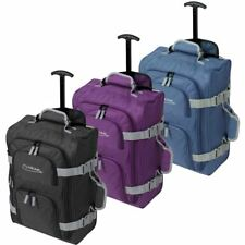 Ryanair Cabin Wheeled Travel Hand Luggage Trolley Holdall Bag Case Suitecase