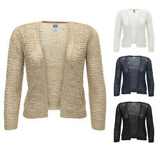 Vero Moda Strickjacke 3/4 Short Knit Cardigan Knitwear Damenpullover Color Mix