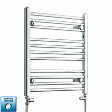 500mm Wide 600mm High Designer Chrome Heated Towel Rail Radiator Bathroom Rad