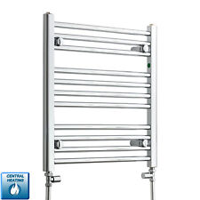 600mm Wide 600mm High Designer Chrome Heated Towel Rail Radiator Bathroom Rad