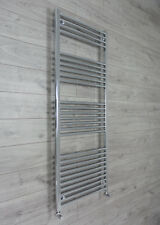 650mm Wide 1600mm High Straight Chrome Heated Towel Rail Radiator Bathroom Rad