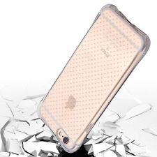 Dotted Ultra Thin Soft Silicone Transparent Back Case  For Apple Iphone4 5 6