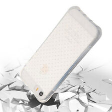 Soft Silicone Transparent Dotted Case Cover For Apple Iphone  6 6S 5 4 6 Plus