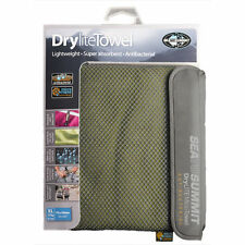 Sea To Summit STSADRYA Drylite Quick Dry Camping Towel - Eucalyptus Green