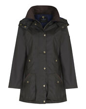 Country Attire Women's Lydney Wax Jacket - Olive