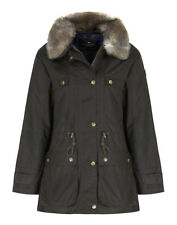 Country Attire Women's Teviot Wax Jacket - Olive