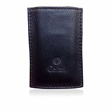 Colibri Black Leather Lighter / Cigar Cutter Holster Case Holder Pouch New