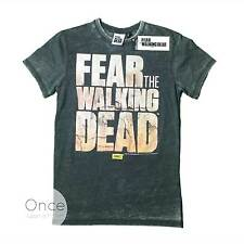 PRIMARK Unisex Mens FEAR THE WALKING DEAD LOGO T Shirt