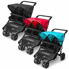 Out N About Little Nipper Double Buggy 2 Seat Pushchair/Stroller - Children/Kids