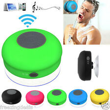 WATERPROOF Portable Bluetooth Speaker Wireless connectivity mini Stereo with MIC