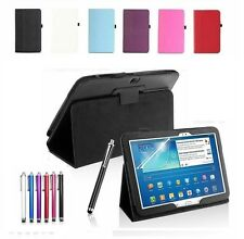 "New Smart Leather Stand Case Cover For Samsung Galaxy Tab 3 10.1"" P5200 P5210"