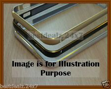 New 0.7mm Ultra Thin Screwless TwoTone Metal Bumper Case for Samsung Z1 Z130H