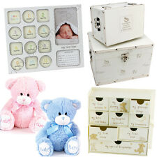 BABY BOY GIRL NEW BORN GIFT SET KEEPSAKE CHRISTENING MEMORY SENTIMENT BIRTHDAY