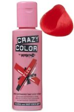 Crazy Color Semi Permanent Hair Tint Fire 56 Colour 100ml