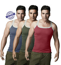 3-PC Dollar Bigboss Cotton Gym Vest Gymvest Pack of 3 - Assorted