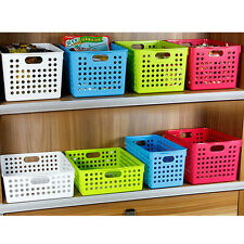 Truyoo Multi Purpose Plastic Handy Fruit Vegetable Basket Kitchen Office Storage