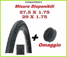 "Copertone Mountain Bike RIDER 29"" x 1.75 - 27,5"" x 1.75 + CAMERA D'ARIA OMAGGIO"