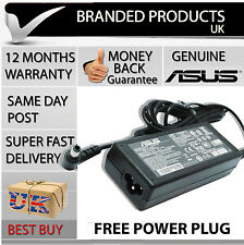 Genuine Original Asus Laptop Notebook Square Power Supply AC Adapter Charger