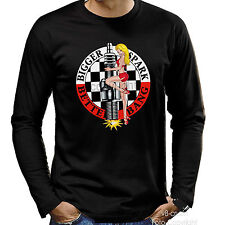 Pin-Up Racing Tuning Rockabilly Garage Maniche lunghe T-Shirt 1010 nuovo