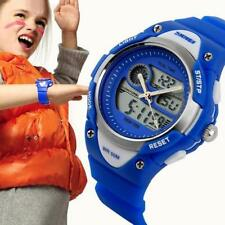 SKMEI Gomma Bambini Watches Digitale Led Impermeabile Orologio da polso Watch