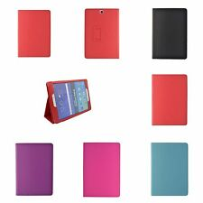 "CASE COVER FOR SAMSUNG GALAXY TAB A 9.7"" VARIOUS COLOUR PU LEATHER WALLET FLIP"