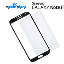 Cristal frontal tactil Samsung Galaxy Note 2 N7100 N7105 NEGRO - Outer glass