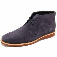 0663L polacchini uomo blu HOGAN h262 derby scarpe shoes men
